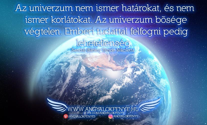 Photo of Angyali üzenet: Az univerzum nem ismer határokat