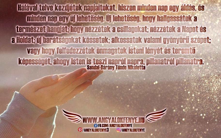Photo of Angyali üzenet: Hálával telve kezdjétek napjaitokat
