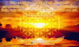 Angyali üzenet-Isten tudja mi lakozik a lelkedben