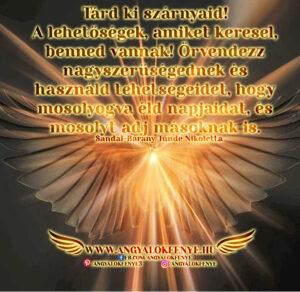 Angyali üzenet-Tárd ki szárnyaid