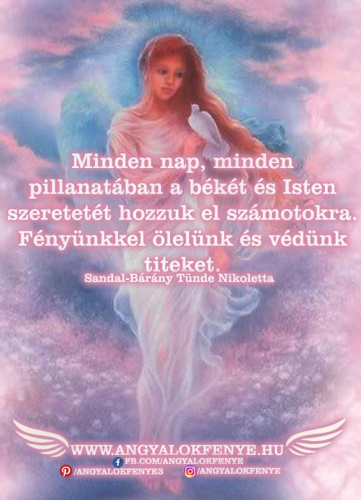 Photo of Angyali üzenet: A békét és Isten szeretetét hozzuk el számotokra