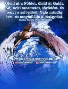 Angyali üzenet-Öleld át a Földet