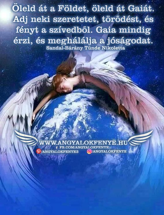 Photo of Angyali üzenet: Öleld át a Földet