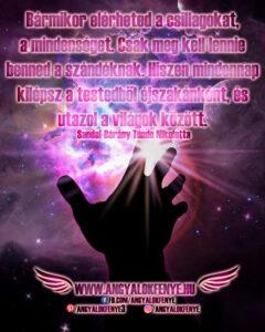 Angyali üzenet-Bármikor elérheted a csillagokat