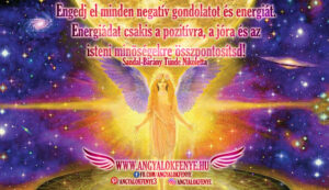 Angyali üzenet-Engedj el minden negatív gondolatot