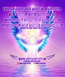 Angyali üzenet-Felemelkedésetek