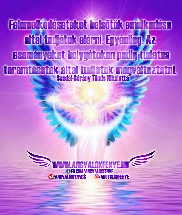 Photo of Angyali üzenet: Felemelkedésetek