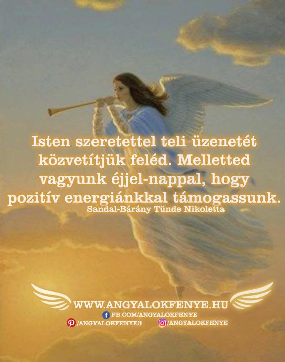 Photo of Angyali üzenet: Isten szeretettel teli üzenetét közvetítjük