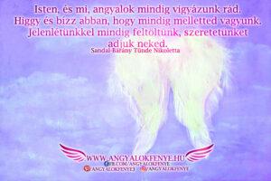 Angyali üzenet-Mindig melletted vagyunk