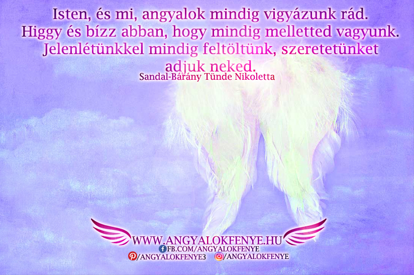 Photo of Angyali üzenet: Mindig melletted vagyunk