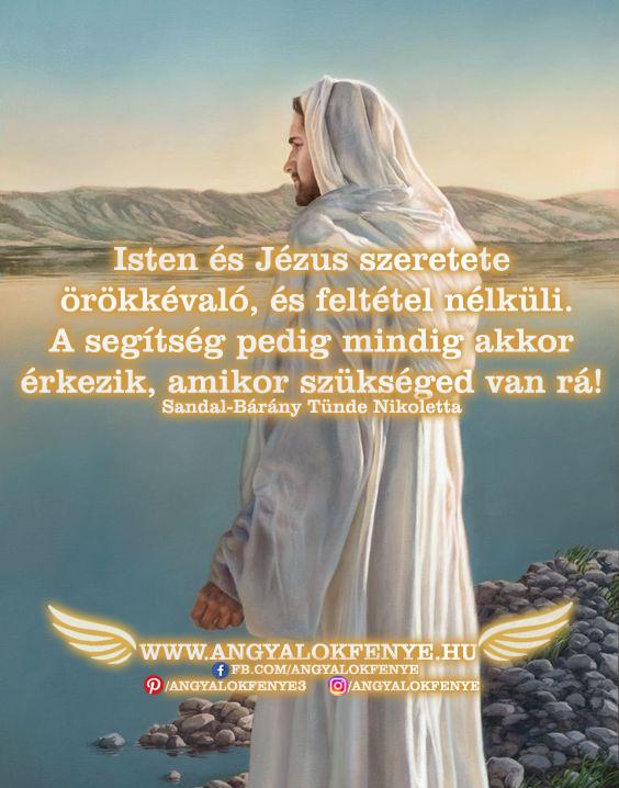 Photo of Angyali üzenet: Isten és Jézus szeretete örökkévaló