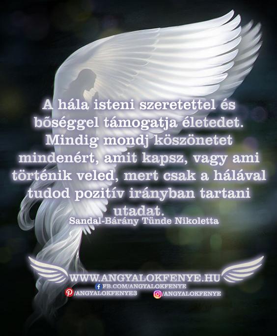 Photo of Angyali üzenet: A hála isteni szeretettel és bőséggel támogatja életedet