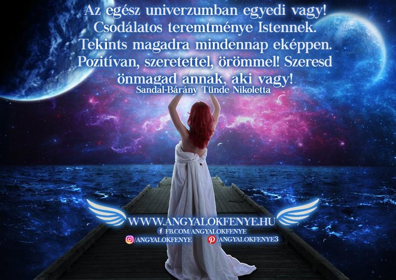 Photo of Angyali üzenet: Az egész univerzumban egyedi vagy!