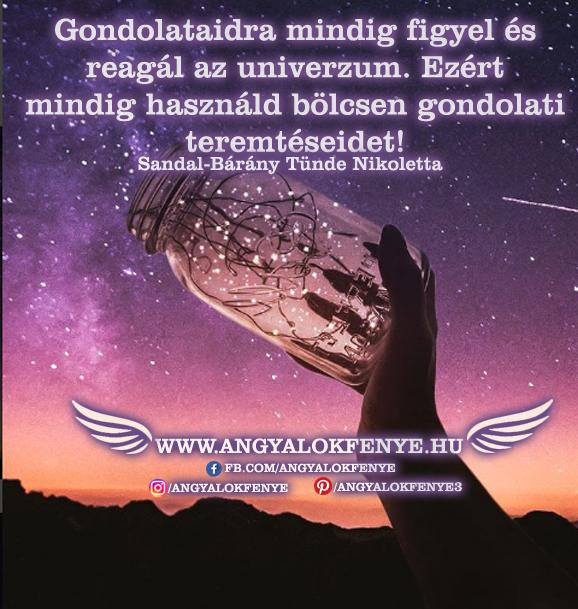Photo of Angyali üzenet: Gondolataidra mindig figyel és reagál az univerzum