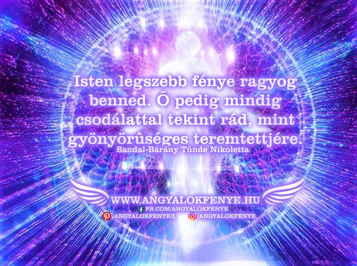 Photo of Angyali üzenet: Isten legszebb fénye ragyog benned