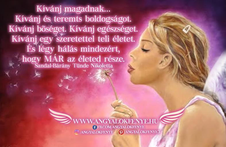 Photo of Angyali üzenet: Kívánj magadnak