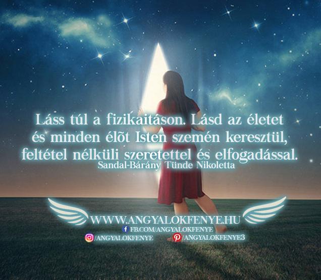 Photo of Angyali üzenet: Láss túl a fizikaitáson