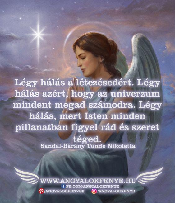 Photo of Angyali üzenet: Légy hálás a létezésedért
