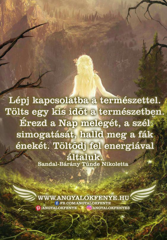 Photo of Angyali üzenet: Lépj kapcsolatba a természettel