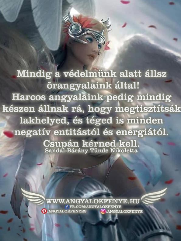 Photo of Angyali üzenet: Mindig a védelmünk alatt állsz