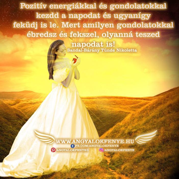Photo of Angyali üzenet: Pozitív energiákkal és gondolatokkal kezdd a napodat