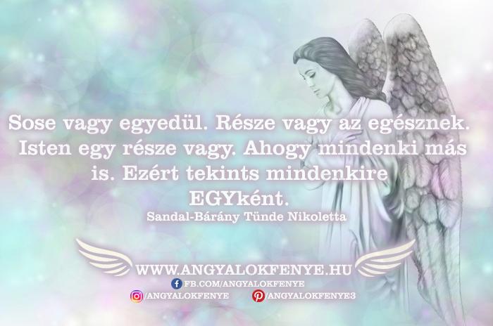 Photo of Angyali üzenet: Sose vagy egyedül
