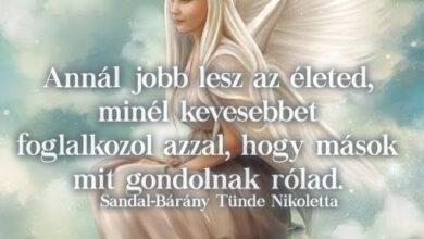 Photo of Angyali üzenet: Annál jobb lesz az életed…