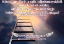 Photo of Angyali üzenet: Készíts egy létrát