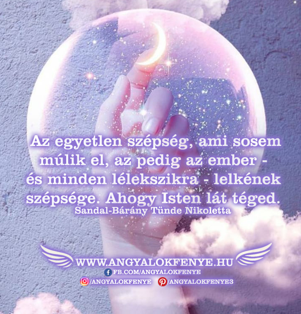 Angyali üzenet-A lélek szépsége