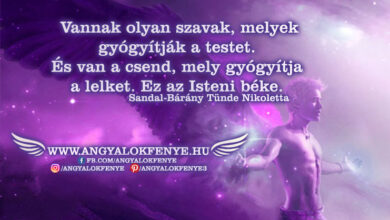 Photo of Angyali üzenet: Isteni béke