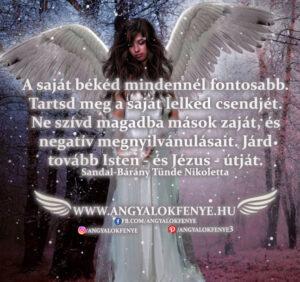Angyali üzenet-A saját békéd