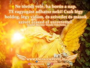 Angyali üzenet-Adj ragyogást a napnak