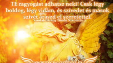 Photo of Angyali üzenet: Adj ragyogást a napnak!