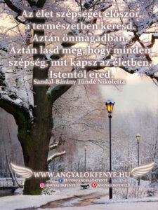 Angyali üzenet-Az élet szépsége