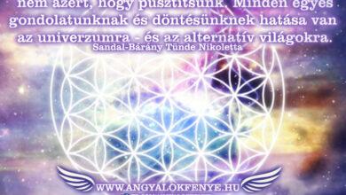 Photo of Angyali üzenet: Azért vagyunk, hogy teremtsünk
