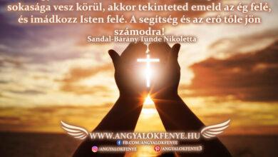Photo of Angyali üzenet: Imádkozz Isten felé