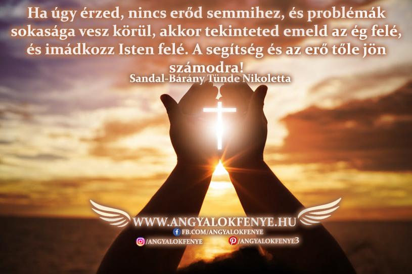 Angyali üzenet-Imádkozz Isten felé