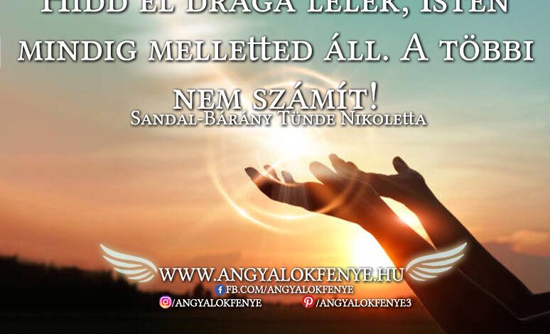 Angyali üzenet-Isten mindig melletted áll