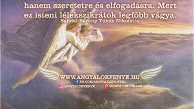 Photo of Angyali üzenet: Isteni lélekszikrátok legfőbb vágya.
