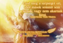 Photo of Angyali üzenet: Lásd meg a szépséget