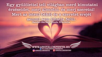 Photo of Angyali üzenet: Merj szeretni!
