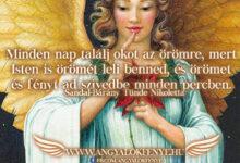 Photo of Angyali üzenet: Isten örömét leli benned