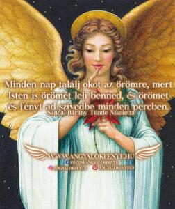 Angyali üzenet-Isten örömét leli benned