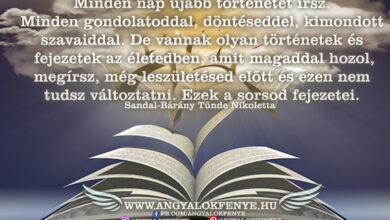 Photo of Angyali üzenet: Sorsod fejezetei