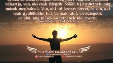 Photo of Angyali üzenet: Élvezd az Istentől kapott életet!
