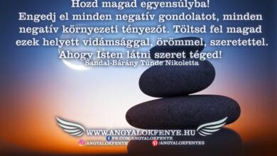 Photo of Angyali üzenet: Hozd magad egyensúlyba!