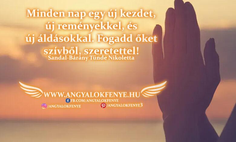 Angyali üzenet-Minden nap egy új kezdet