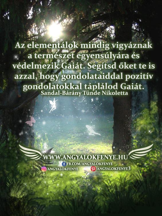 Angyali üzenet-Segítsd Gaiát