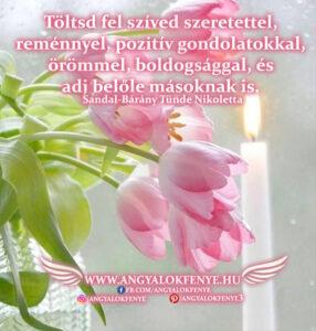 Angyali üzenet-Töltsd fel szíved