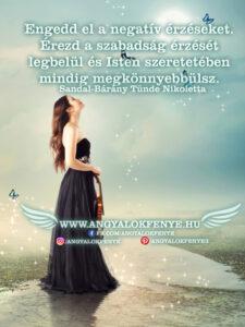 Angyali üzenet-Engedd el a negatív érzéseket